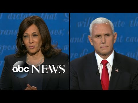 Pence and Harris address coronavirus response l Vice Presidential Debate 2020