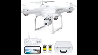 Potensic D58 FPV Drone with 1080P Camera for Adults, 5G WiFi HD Live Video, GPS Auto Return,$199