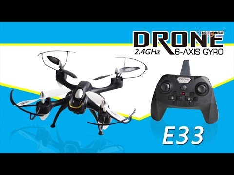 Video Recensione Eachine E33C, un drone Low Cost divertente