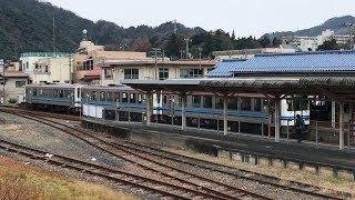 2018.1.5 JR三江線 石見川本駅を発着する列車 [4K]