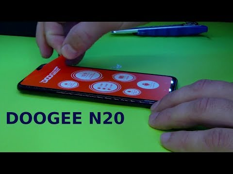 DOOGEE N20 6.3 Inch FHD+ Android 9.0 4350mAh 4GB RAM 64GB ROM Helio P23 Octa Core 2GHz 4G
