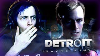 LET'S MAKE SOME POOR CHOICES! | DETROIT BECOME HUMAN #1 | DAGames