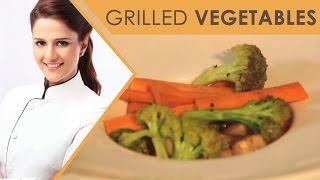 Grilled Vegetables |healthy Recipe |Shipra Khanna