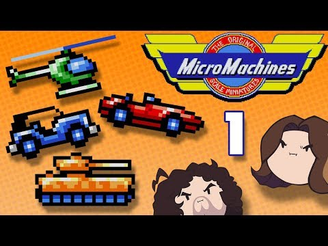 Micro Machines: Really Small Cars - PART 1 - Game Grumps VS