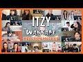 "ITZY ""WANNABE"" M/V - Reaction Mashup"