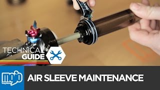 HOW TO - FOX FLOAT Air Sleeve Maintenance
