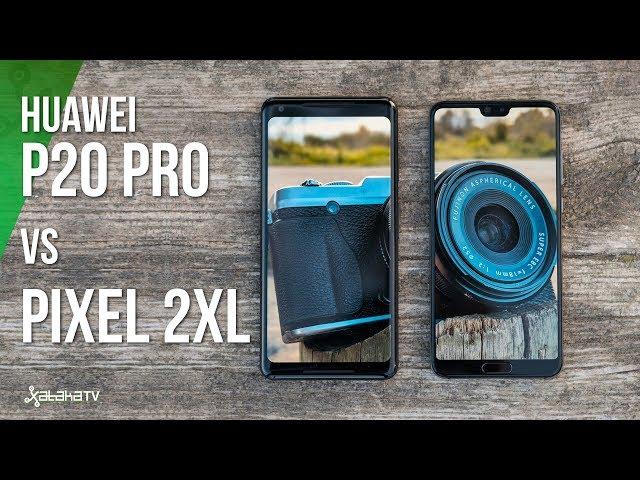 Huawei P20 Pro VS Pixel 2 XL: DOS TITANES DE LA FOTOGRAFÍA