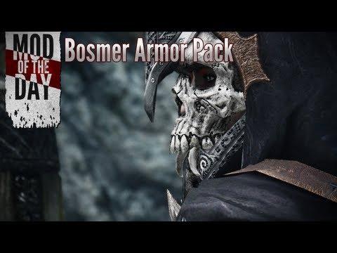 Босмерская броня и оружие / Bosmer Armor Pack - Броня/одежда