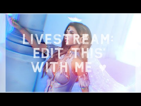 Livestream pt 2: Edit This Photo with Me CS6 Second Life
