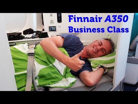 Finnair A350 Business Class Flight Review