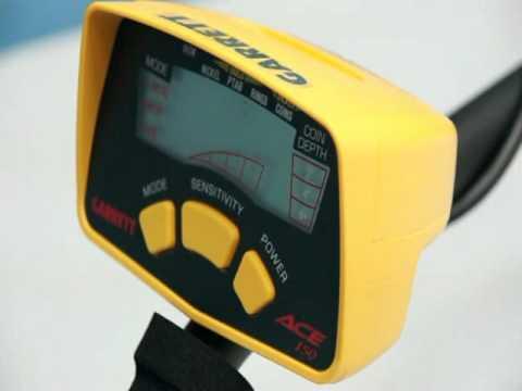 Металлоискатель Garrett ACE 150 обзор