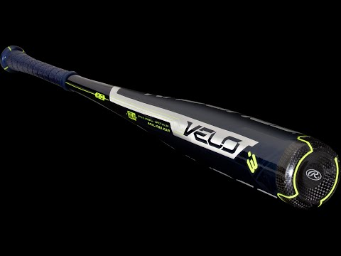 Rawlings VELO BBCOR Baseball Bat: BBRV3