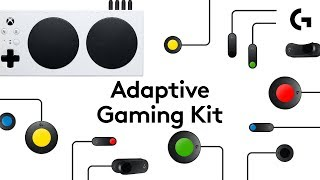 YouTube Video DnHOFfLCpig for Product Logitech G Adaptive Gaming Kit (943-000318) by Company Logitech in Industry Peripheral
