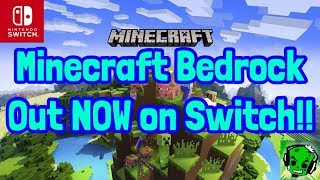 How To Get Minecraft Bedrock Edition On Nintendo Switch For Free