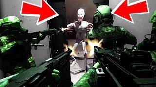 GIOCO CON GLI ISCRITTI CONTRO L' SCP 096!!! Secret Laboratory