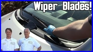 How to Replace Windshield Wiper Blades Toyota