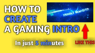 how to make gaming intro online - TH-Clip