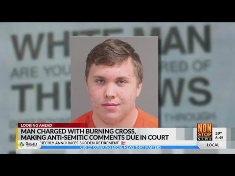 Cary man charged with burning cross, making threats at synagogue in 2018 due in court