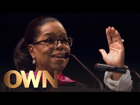 , title : 'Oprah's Inspirational Commencement Speech at USC | Oprah Winfrey Network'