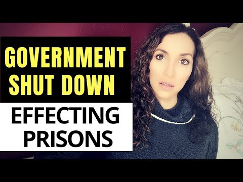 How the GOVERNMENT SHUT affects PRISONERS | PRISON WIFE explains