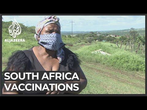 S Africa vaccinations: Rural communities demand fair treatment