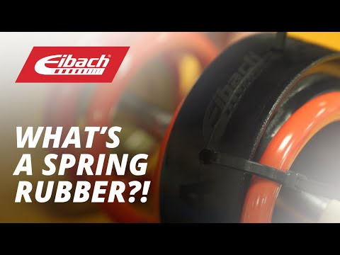 What is a spring rubber?