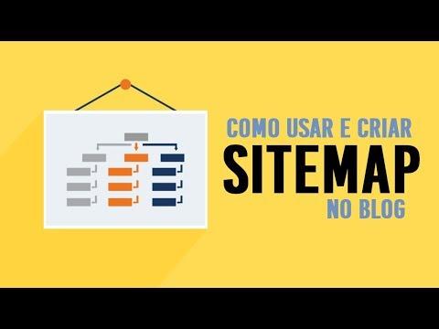 Como criar e usar Sitemap no Blog