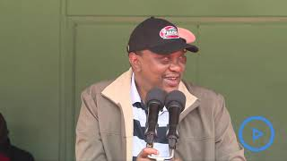 Uhuru promises a state of the art stadia at Kasarani