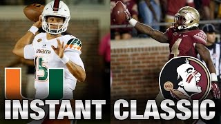 Instant Classic: Miami vs. Florida State Full Game | 2015 ACC Football