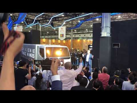 First look at Vision F Cell by Mitsubishi Fuso at the Tokyo Motor Show 2019 [RAW VIDEO]
