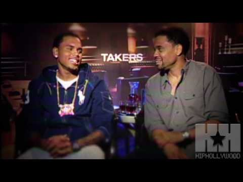Chris Brown, Michael Ealy and T.I. Talk
