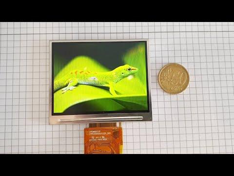 "3.5"" IPS TFT-LCD 320x240 + STM32F4 | DPI Interface"