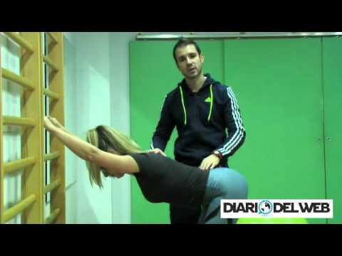 Serie di esercizi per eliminazione di scoliosis