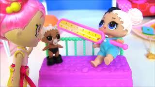 Куклы Лол #LoL Surprise Доктор и пупсики ЛОЛ #Видео для девочек! Мультик с игрушками!