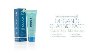COOLA Classic Face SPF 30 Cucumber