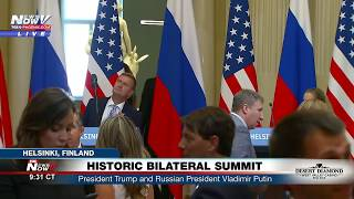 LIVE: President Trump and Russian President Vladimir Putin hold joint news conference