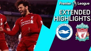 Brighton v. Liverpool | PREMIER LEAGUE EXTENDED HIGHLIGHTS | 1/12/19 | NBC Sports