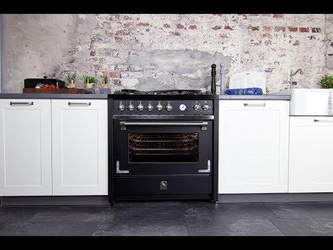 Steel Oxford Landhausherd   Gasherd   vintage range cooker