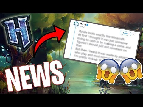 Hytale News   Notch tweeted Hytale, Dynamic Fog Gameplay, & More
