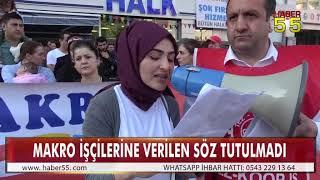 MAKRO İŞÇİLERİ EYLEMLERİNDE 42. HAFTAYI GERİDE BIRAKTI