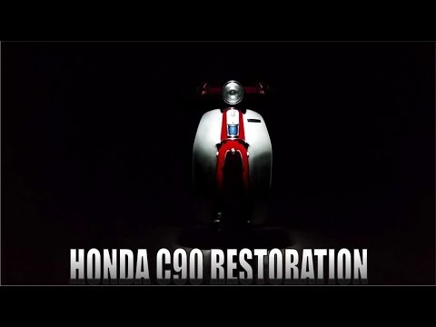 The Grand Finale! -Part 6 ( Honda C90 FULL RESTORATION )