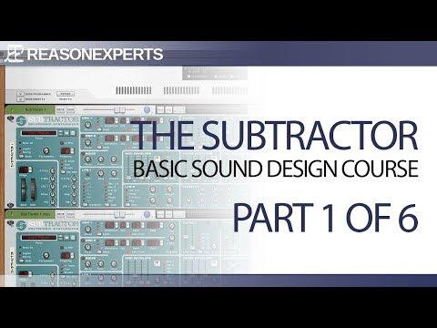 basic sound design course - beginner part 1 of 6 - YouTube