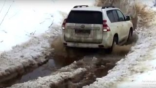 Toyota Prado 2017 Off road Extreme Compilation Full Test Drive