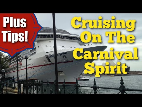 Cruising On The CARNIVAL SPIRIT – An Inside Experience PLUS Cruise Tips!!