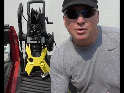 KARCHER Electric Pressure Washer Review K5.740 X-Series