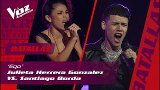 Santiago Borda, Julieta Herrera - Ego (Cover) (Live)