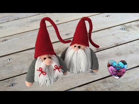 Gnome De Noël Amigurumi Crochet Papa Christmas Gnome