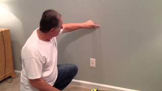 How to install a wall mounted upholstered headboard from Home Emporium