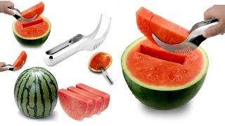 Нож для арбуза / Быстро и красиво порежет арбуз / Специальный нож для арбуза