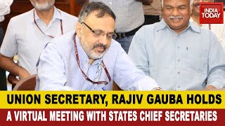 Union Cabinet Secretary Meet With States Chief Secretaries; Fifth Phase Of Lockdown To Commence